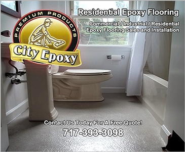 Residential Epoxy Flooring Lancaster by City Epoxy