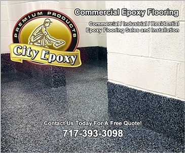 Commercial Epoxy Flooring Reading by City Epoxy